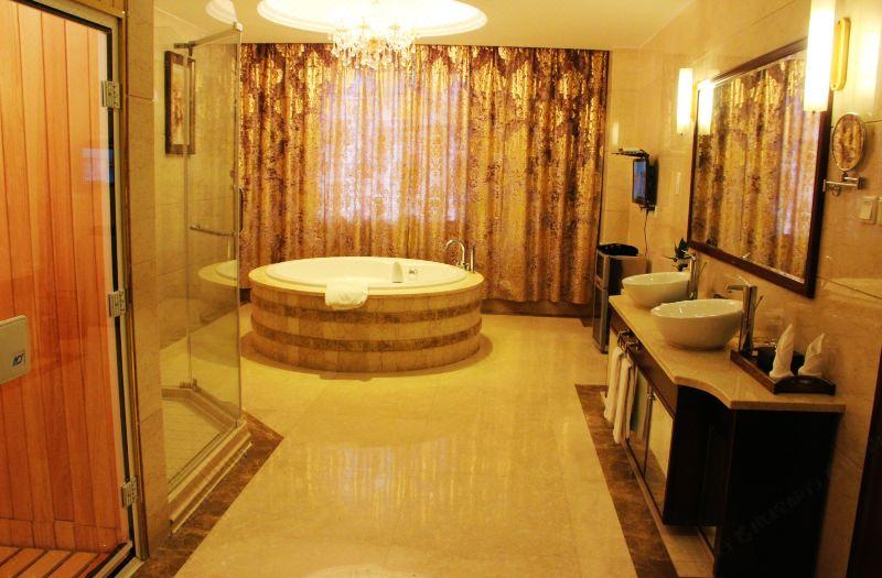 21F總統套房浴室