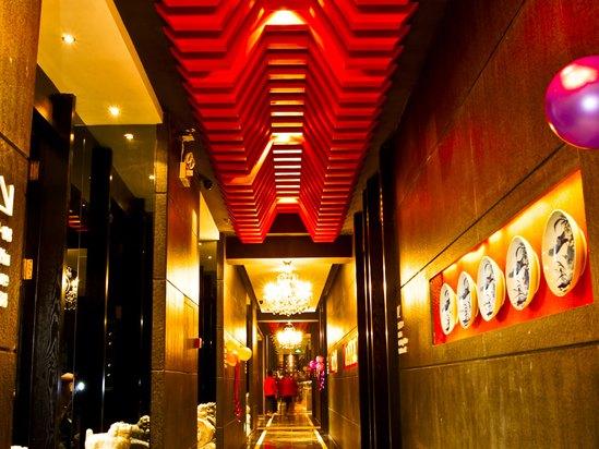 福宴餐饮走廊