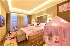 Parent-child Paradise Queen Room