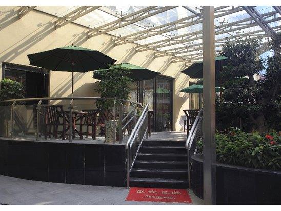 西餐厅外廊