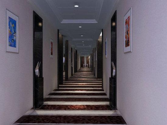 11楼现代商务楼层过道