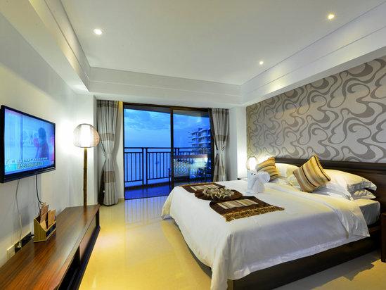 精品套房(二房一厅)卧室