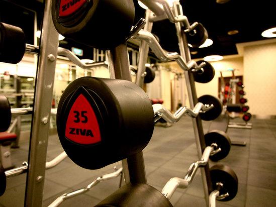 健身房局部