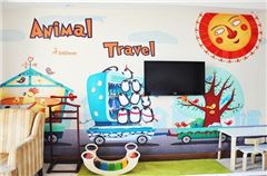Animals Travel Family Thematic Room