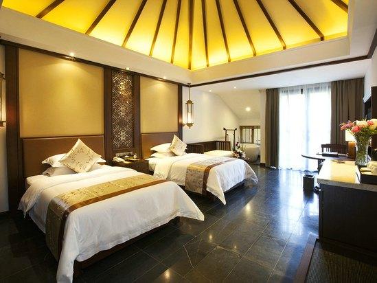 木寨別墅豪華雙床房