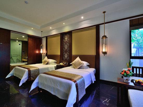 木寨別墅高級雙床房