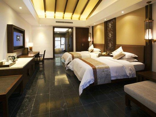 水寨別墅豪華雙床房