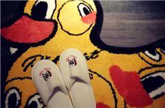 小黄鸭主题套房
