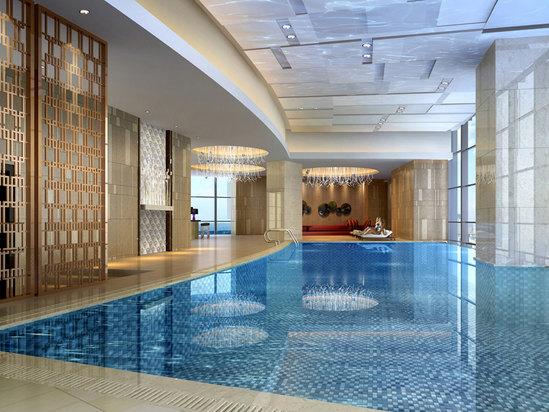 七层游泳池