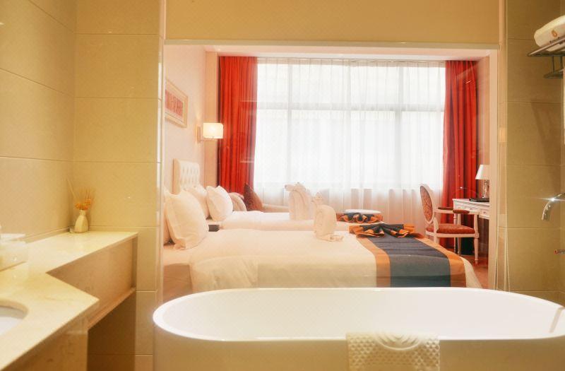 2栋豪华双床房