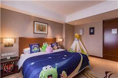 綠豆蛙親子主題大床房