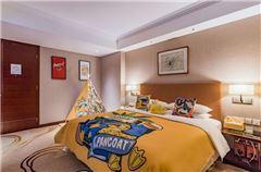 小黃鴨親子主題大床房