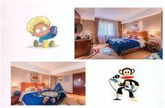 大嘴猴親子主題大床房