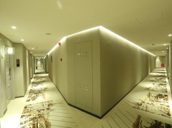客房走廊處