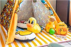 小黄鸭主题房