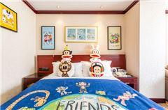 大嘴猴主题大床房