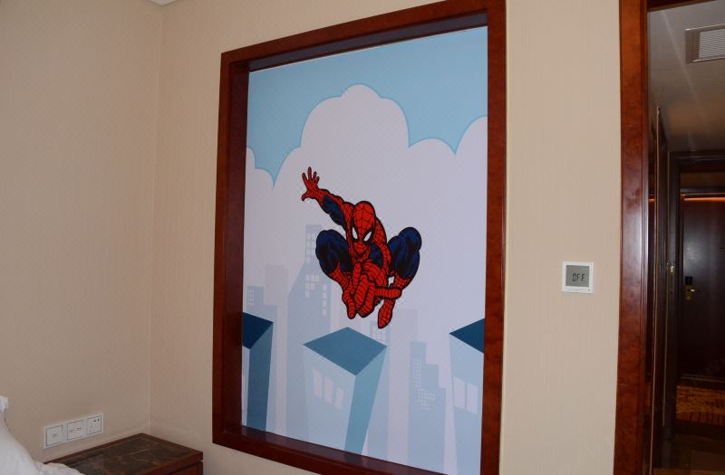 Spider-Man Thematic Family Room