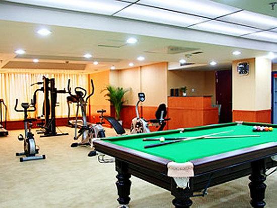 健身房和臺球娛樂