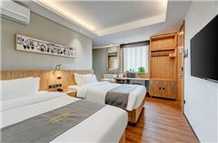 雙臥室三床家庭套