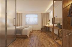 一臥一廳雙床房