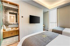 超大窗胡同景觀雙床房