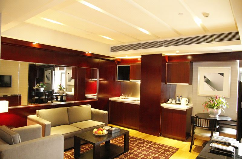 2-bedroom and 1-living room Suit