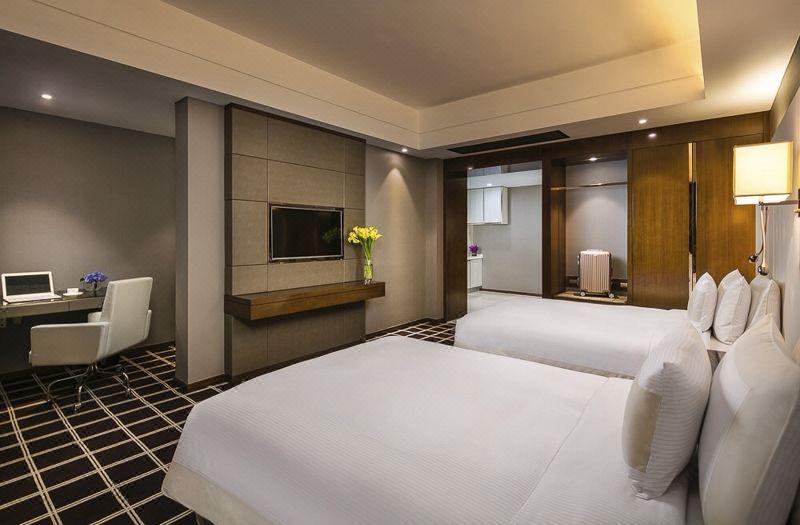 公寓楼双床房