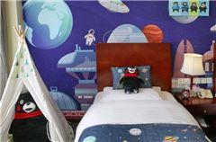 熊本熊主題雙床房
