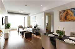 Exquisite 2-bedroom and 1-living room