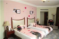 熊本熊豪华双床房