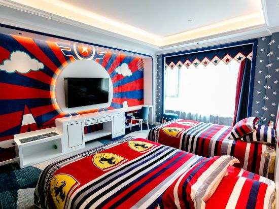 卡通親子雙床房B
