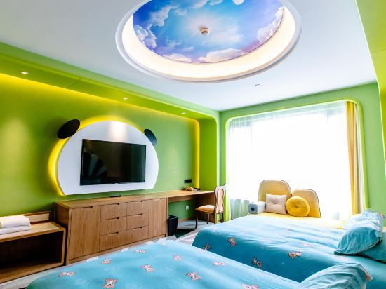 卡通親子雙床房C