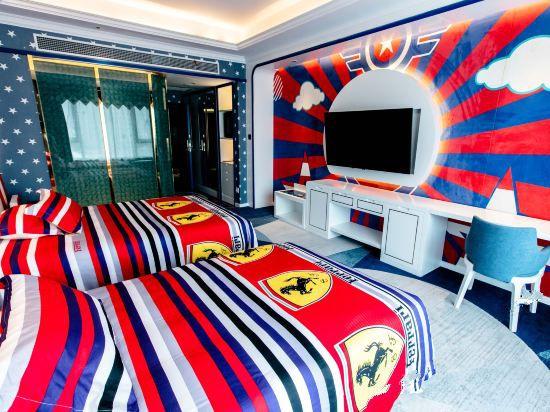 卡通亲子双床房B