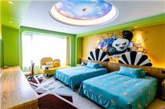 卡通亲子双床房C