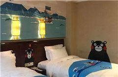 熊本熊主题双床房