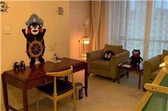 熊本熊主题亲子套房
