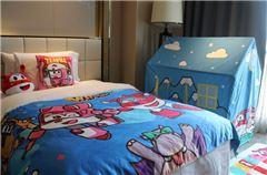 超级飞侠酷芽亲子双床房