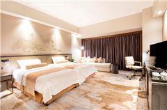 高级景观双床房