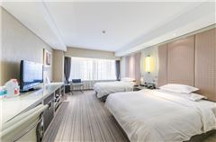 内景双床房