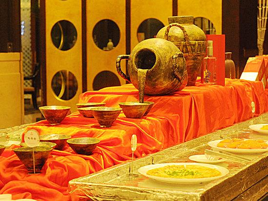 中餐水果臺