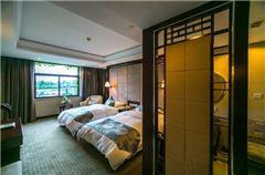 新安江景雙床房