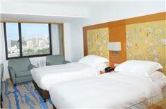 商务城景双床房