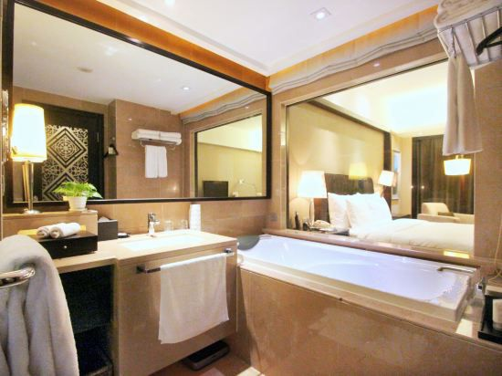 Xinyue building Garden Deluxe Twin Room
