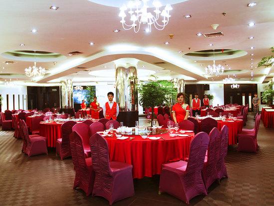 摩登中餐厅大厅