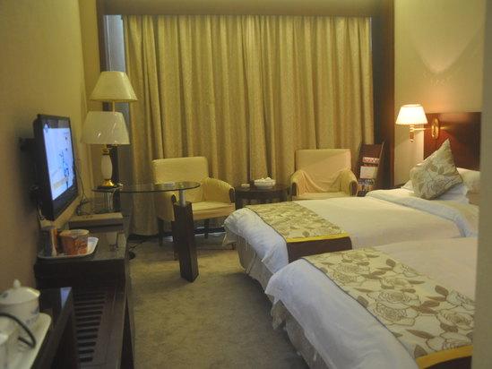 中式商务双床房