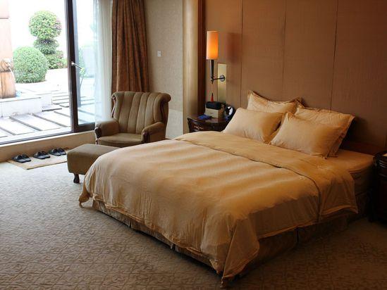 总统套房卧房