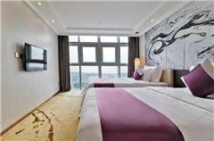Deluxe business 1 bedroom 1 living room Twin Room