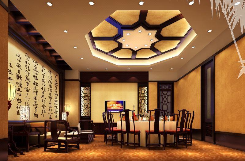 鸿桃轩中餐厅包厢