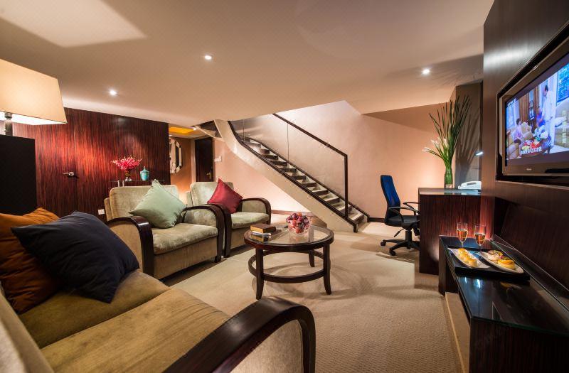 Executive Multi-level  Queen Room  Suite