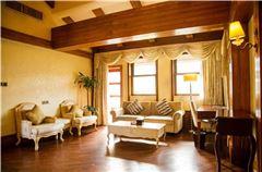 茶溪谷小镇公寓楼湖景家庭复式套房
